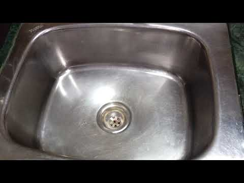Kitchen sink cleaning/Tips to get rid of bad smell/clean and tidy kitchen/no bad smell/ cleankitchen