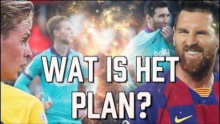 OERSAAI FC Barcelona: 'Er Gaat Zoveel Fout Dat Frenkie Als Tweede Spits Messi In de Gaten Houdt'