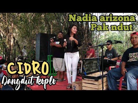 Cidro Cover Pak Ndutt Dan Nadia Arizona.hut Pasgosa.(sound Miniatur Kuli Jaya)