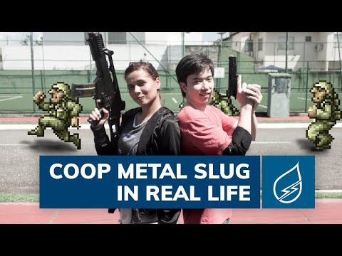 Coop Metal Slug real life
