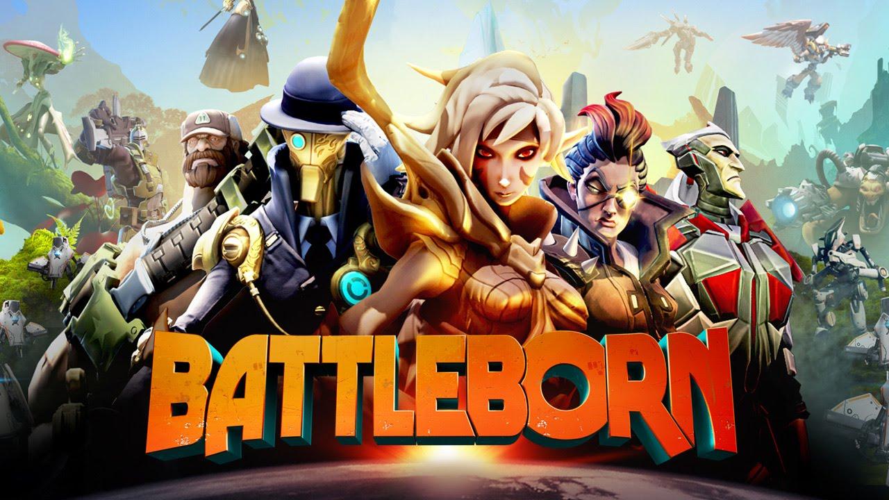 BATTLEBORN: Impresiones - De los creadores de Borderlands, 25 personajes - Gameplay HD