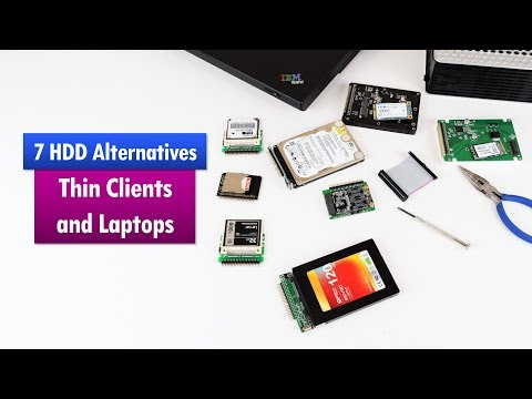 Modern Hard Drive Alternatives For Old Laptops And Thin Clients
