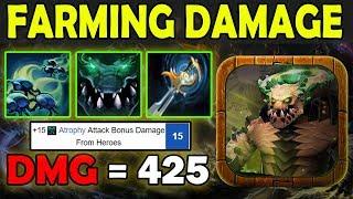 It So Fast Get DAMAGE [4X Auto Attack + Atrophy Aura] Ability Draft Dota 2