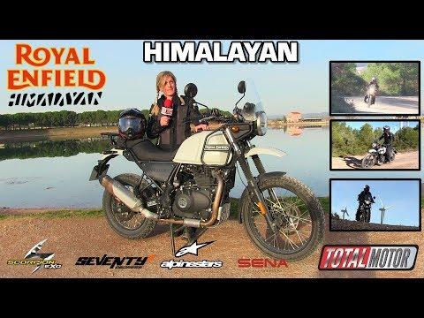 Royal Enfield Himalayan  | Prueba / Test / Review en español | Total Motor TV