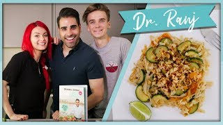 EASY Veggie Pad Thai with DR. RANJ!