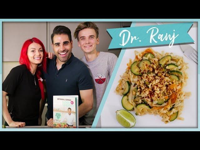 EASY Veggie Pad Thai with DR. RANJ!