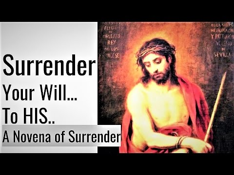 photo about Surrender Novena Printable referred to as Novena of Surrender; Will of God - Fr Dolindo Ruotolo; Rest, Contentment, Joy, Anticipate, Happiness Fill
