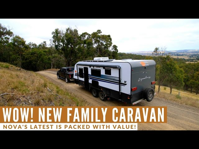 Check Out This New Family Caravan!