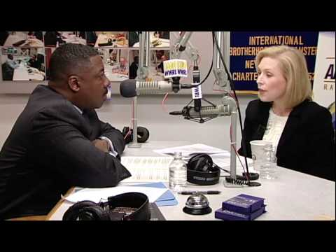 Reaching Out: US Senator Kirsten Gillibrand
