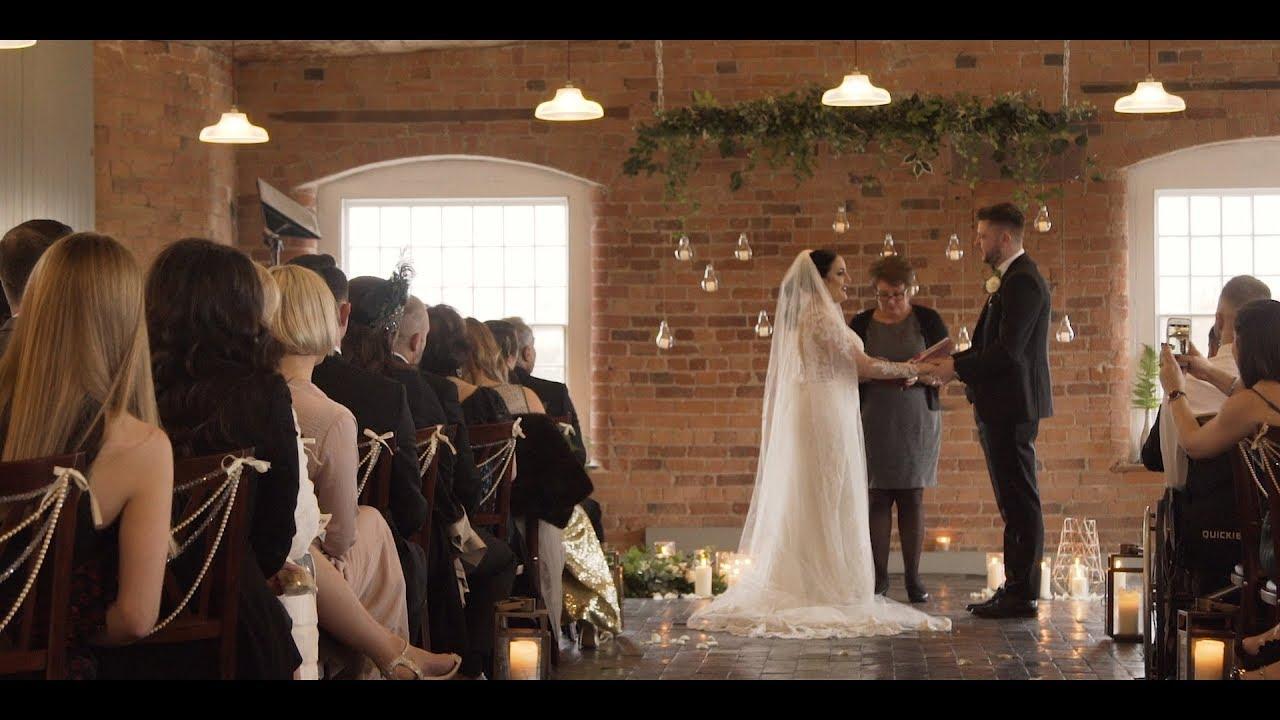 Renna & Ben West Mill Derby Wedding Film - YouTube