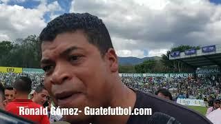 Ronald Gómez comentó que el arbitraje los perjudicó en la Final.
