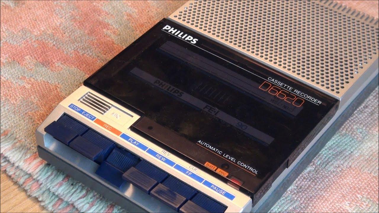 1982 Philips D6620 Cassette Recorder