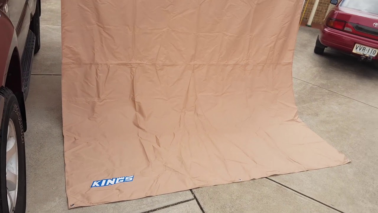 Adventure Kings Awning Side Wall Review - YouTube