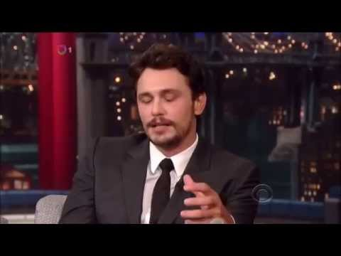 James Franco on David Letterman May 9th 2014 Full Interview
