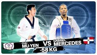 Beijing 2008 Chu Mu Yen vs. Gabriel Mercedes