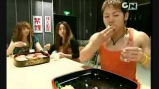 Fast Sushi Eating guy