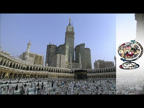Saudi's Lavish Buildings Threaten To Overwhelm Mecca Site