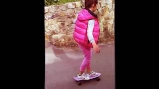 Первые уроки на скейте 😉✌