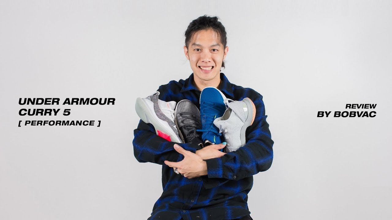 1721ed2f16c6df Under Armour - Curry 5  Performance Review (Thai) - YouTube