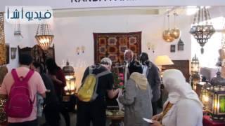 بالفيديو : انطلاق المعرض الدولى الأول للصناعات اليدوية بأرض المعارض