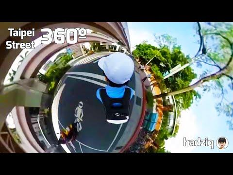 Taipei Street 360º Video 台北市全景(六張犁-基隆路-台科大)