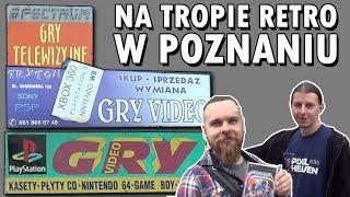 Sklepy z grami w Poznaniu, z klimatem lat 90 - NA TROPIE RETRO! | Retro archiwizacja - odcinek 149
