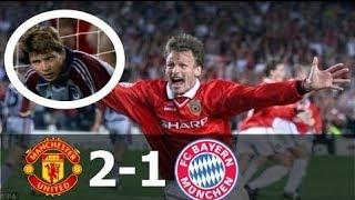 Manchester United vs Bayern Munich 2-1 - UCL Final 1999 - HD