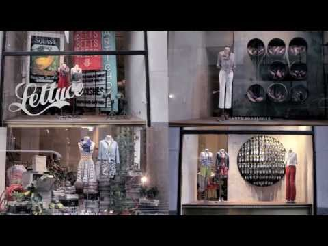 The making of our Rockefeller Center Earth Day window | Anthropologie
