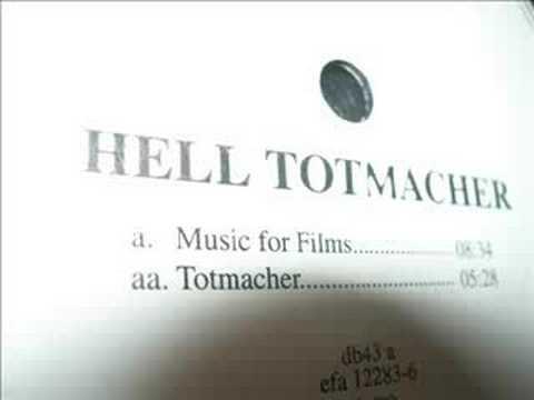 DJ Hell - Music For Films