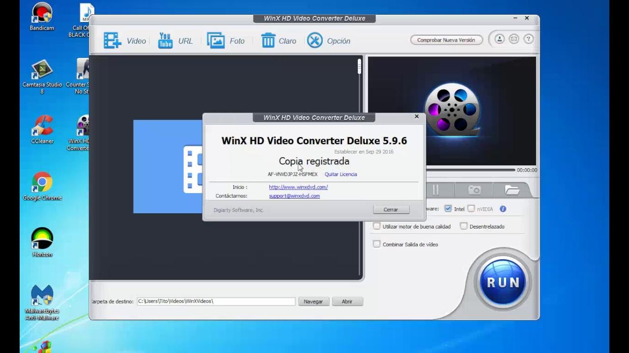 winx hd video converter deluxe serial 2018