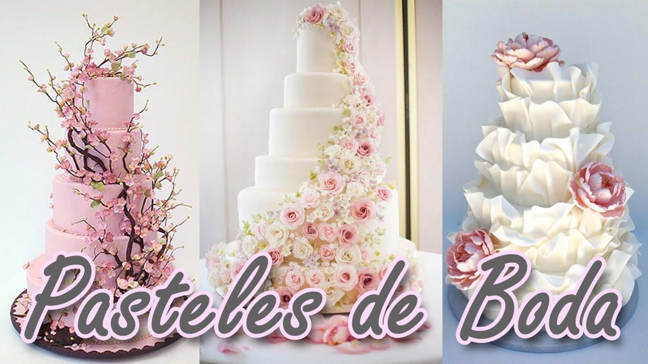 40 Ideas De Pasteles De Boda Realmente Espectaculares!! HD