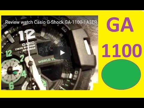 Review watch Casio G-Shock GA-1100-1A3ER