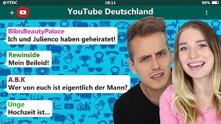 YouTuber reagieren auf Bibis Hochzeit! 😳😂