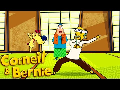 Watch my chops | Corneil & Bernie - The art of War S02E52 - Cartoon HD
