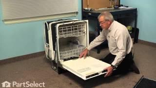 Dishwasher Repair - Replacing the Bottom Door Seal (GE Part # WD08X10075)