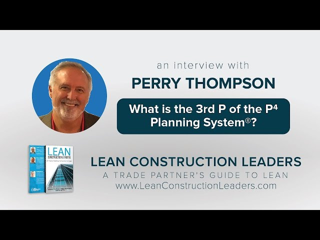 What is the 4th P of the P4 Planning System?