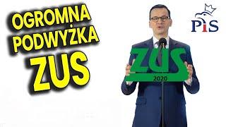 Rekordowa Podwyżka Sładek ZUS bo PIS nie ma Pieniędzy - Analiza Komentator Wybory 2020 Film Polityka