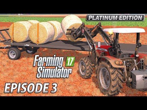 TILLING & DRILLING | Farming Simulator 2017 Platinum Edition | Estancia Lapacho - Episode 3