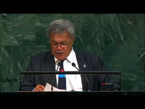Tuvalu supports West Papua at the UN General Assembly