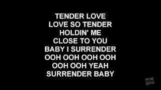 Tender Love in the style of Force M.D.