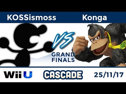 Cascade Singles: Grand Finals - KOSSismoss (Mr. Game & Watch) vs KoL|Konga (Donkey Kong)