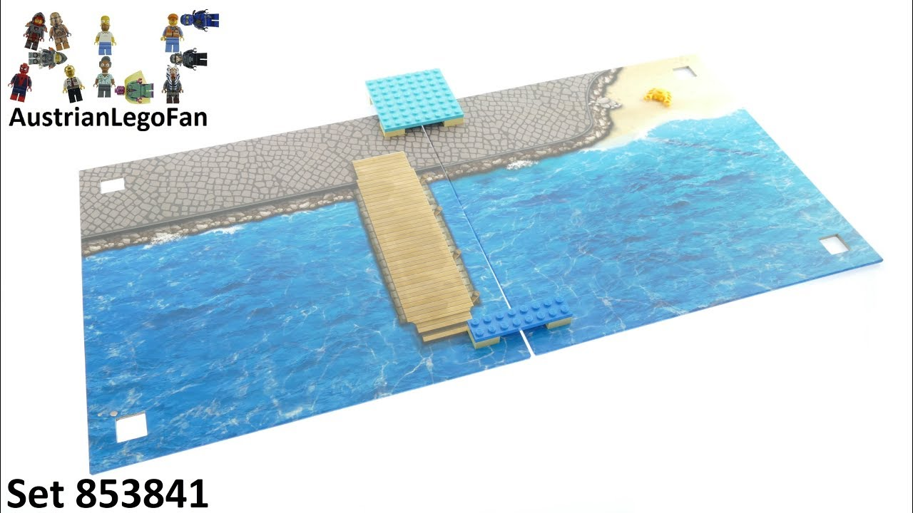 Lego Xtra 853841 Sea Playmat Unboxing And Build Youtube