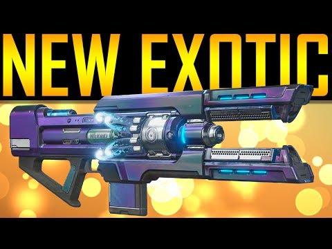 Destiny 2 - NEW EXOTIC! COLDHEART! PRE-ORDER BONUS!