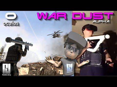 PLAYING 'WAR DUST VR' IN RIFT USING PSVR AIM CONTROLLER! (AS A PROP) // GTX 1060 (6GB)