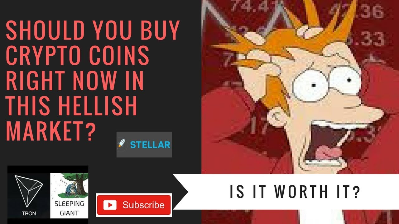 should i buy cryptocurrency right now