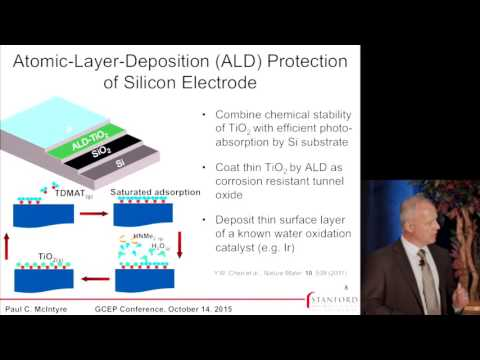 Paul McIntyre | Protective Metal Oxides that Electronically Couple Catalysts to Light Absorbers