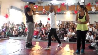 Battle St Valentin Contest III: Leila/Krazy ice (win) VS Adèle/Izzy (1/4 de final Hip-hop)