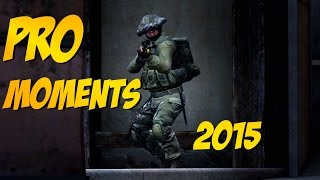 CS:GO - Best PRO Moments! 2015 (Flickshots, Crazy Clutches, Inhuman Reactions, ACEs, Best Frags)