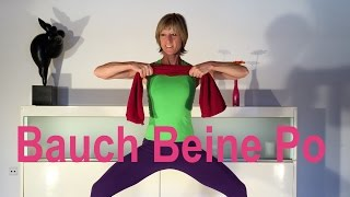 27 min. Handtuch-Workout mit Gabi Fastner