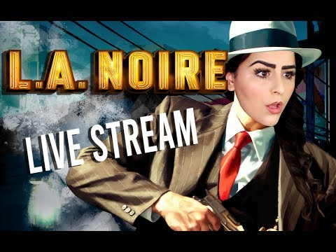 L.A. NOIRE BLIND PLAYTHROUGH | LIVE | VICE DESK